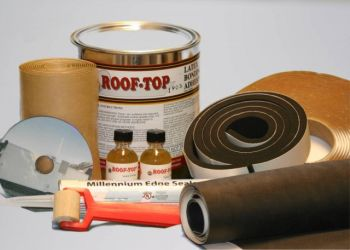 RV Roofing Kit Items